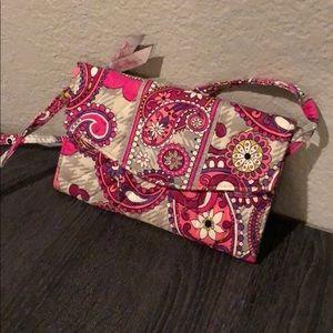 BRAND NEW - Vera Bradley Wristlet with purse strap